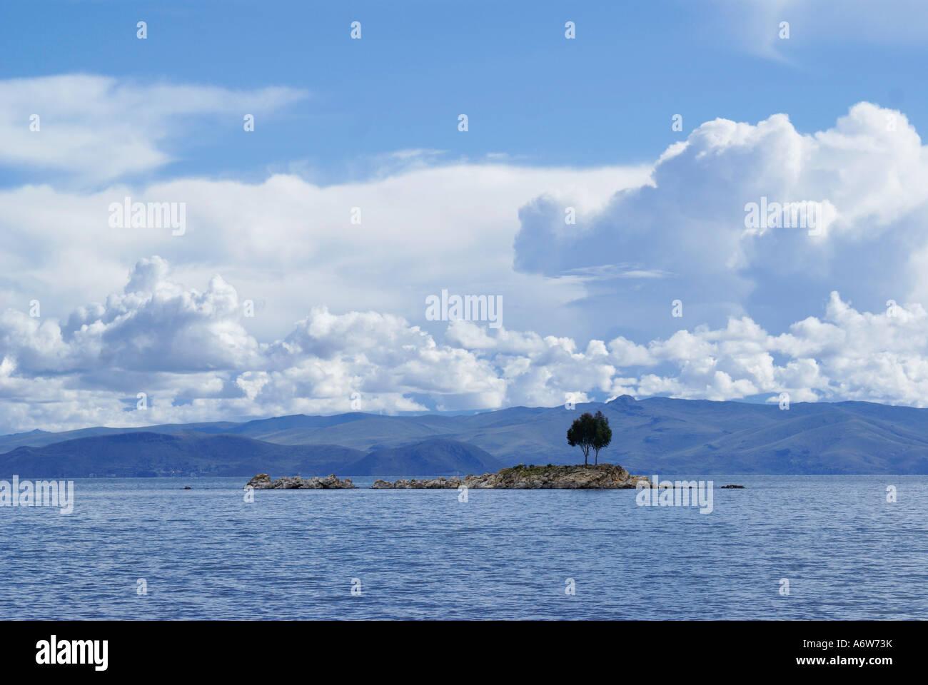 Lake Titikaka, Bolivia Stock Photo