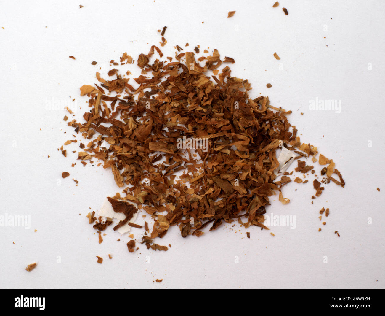 Pile of Tobacco - Stock Image