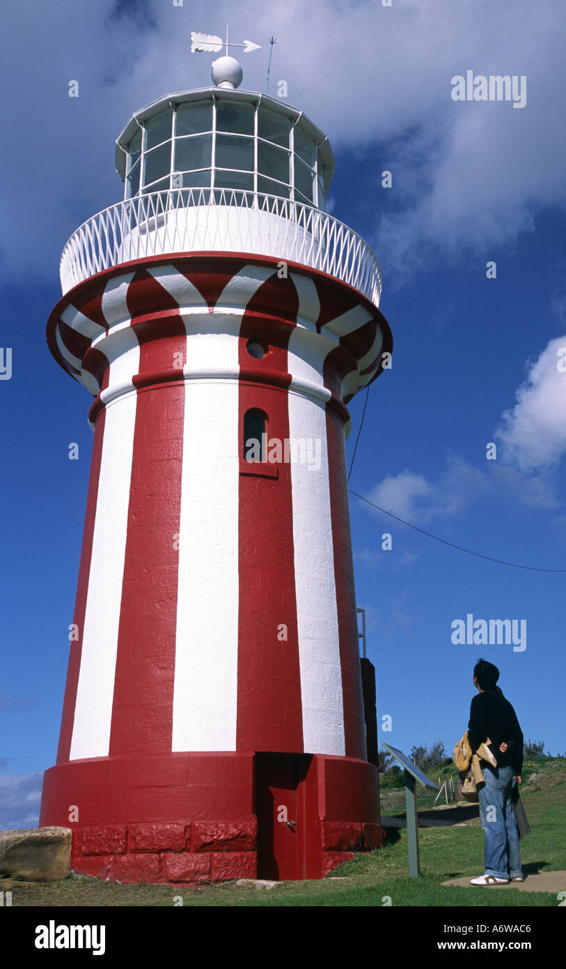 Lighthouse Watsons  Bay Sydney Australia - Stock Image