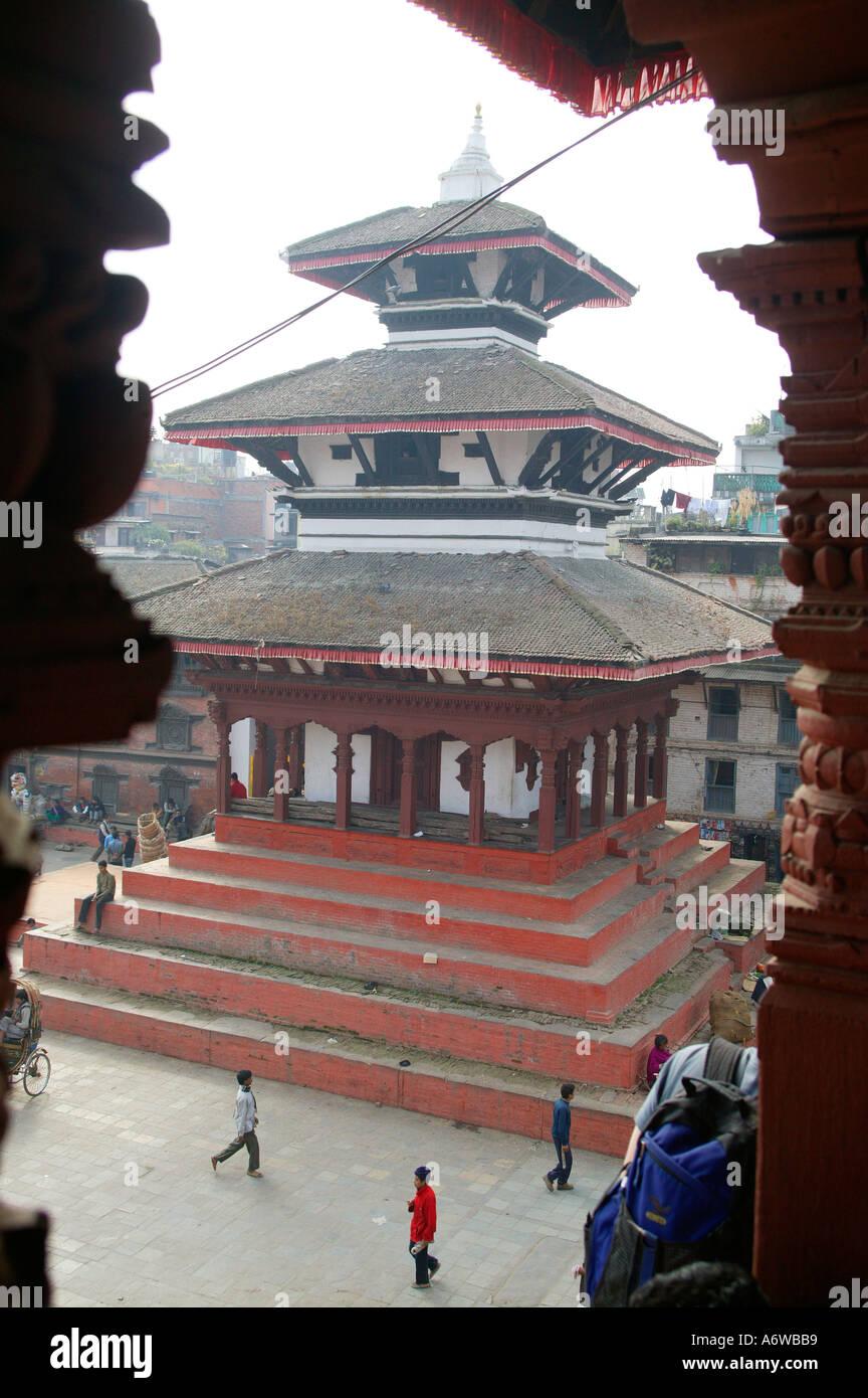 Kathmandus Durbar Square Nepal - Stock Image