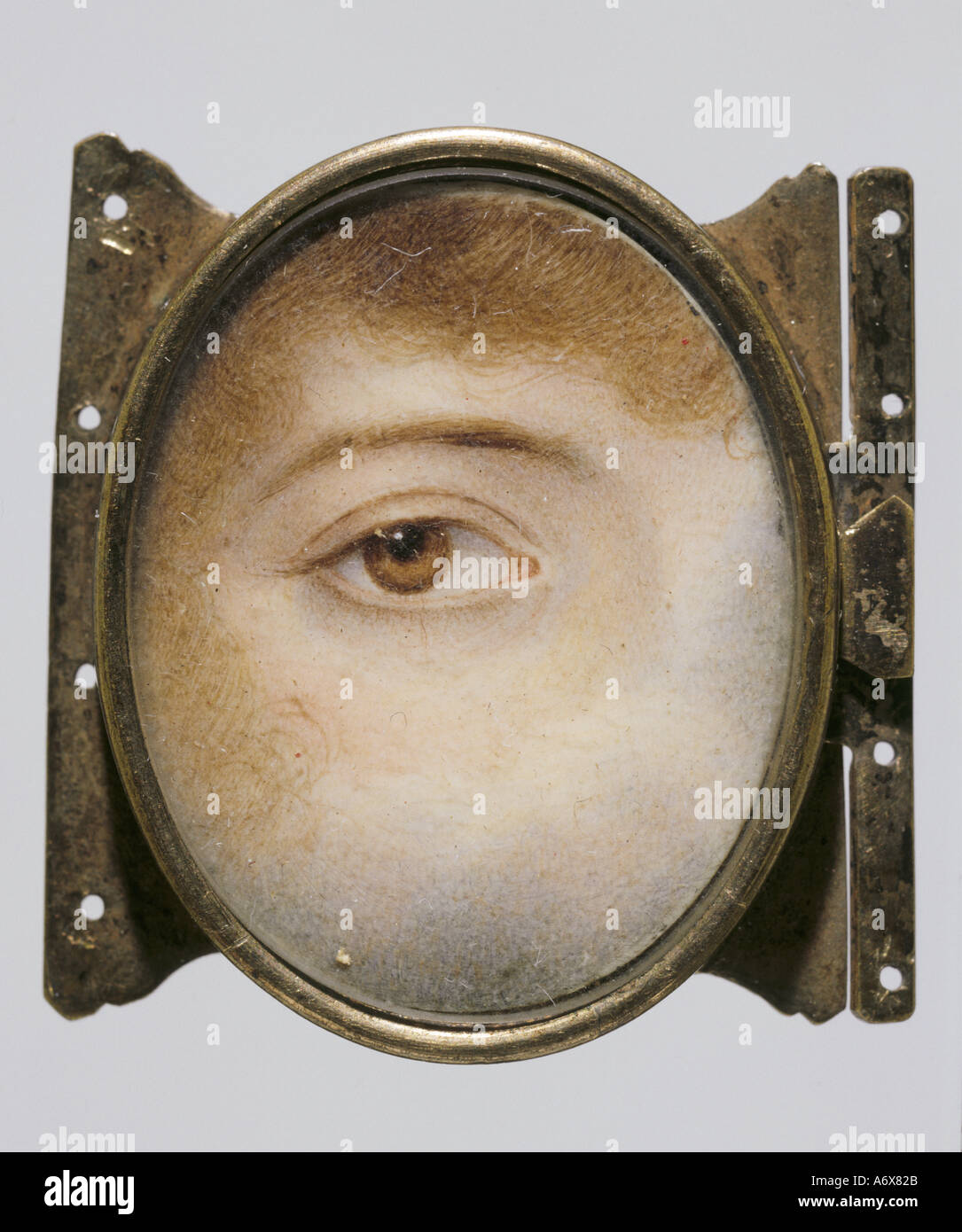 Eye by Charles John Smart. England, late 19th century. - Stock Image