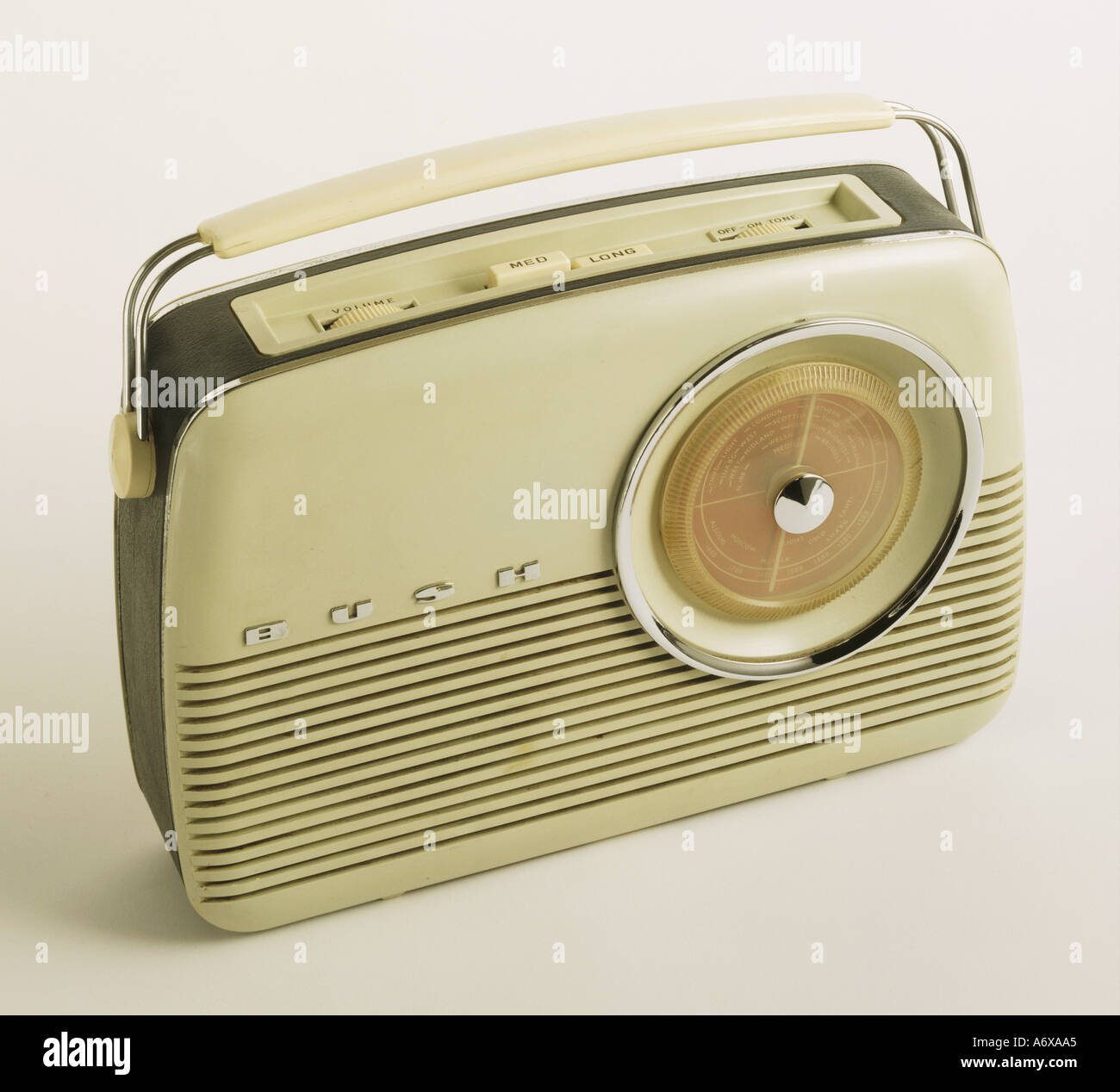Bush TR 82 C Radio. United Kingdom, 1959. EDITORIAL USE ONLY. - Stock Image