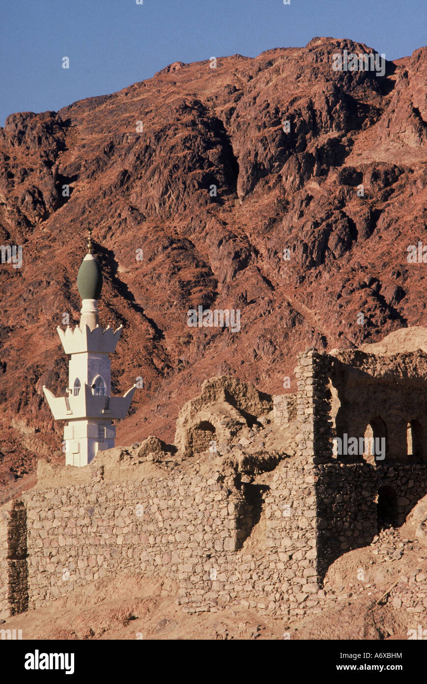 Jebel Uhud Madinah Saudia Arabia - Stock Image
