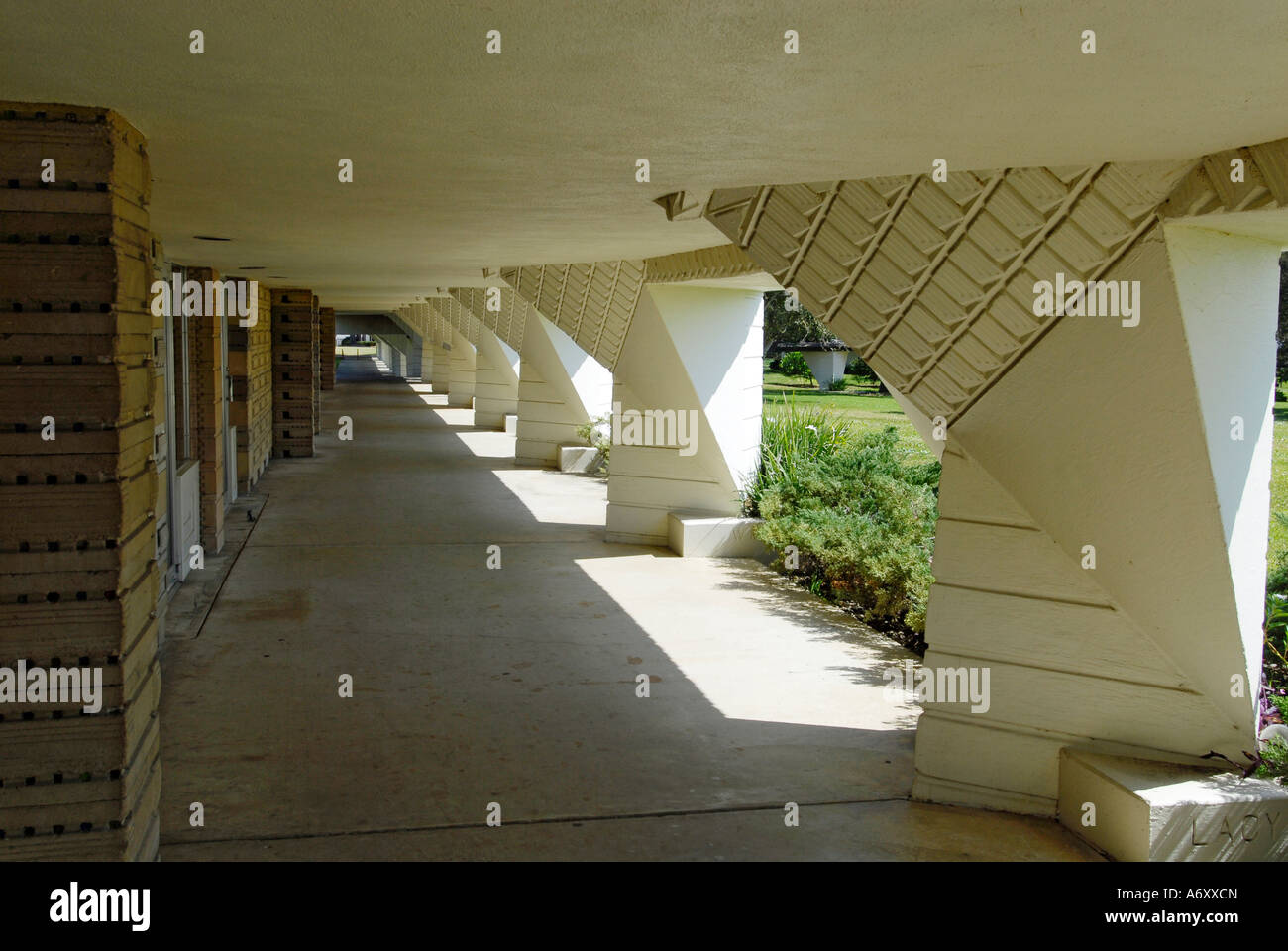 Campus At Florida Southern College FSC Frank Lloyd Wright Architecture At  Lakeland Central Florida United States