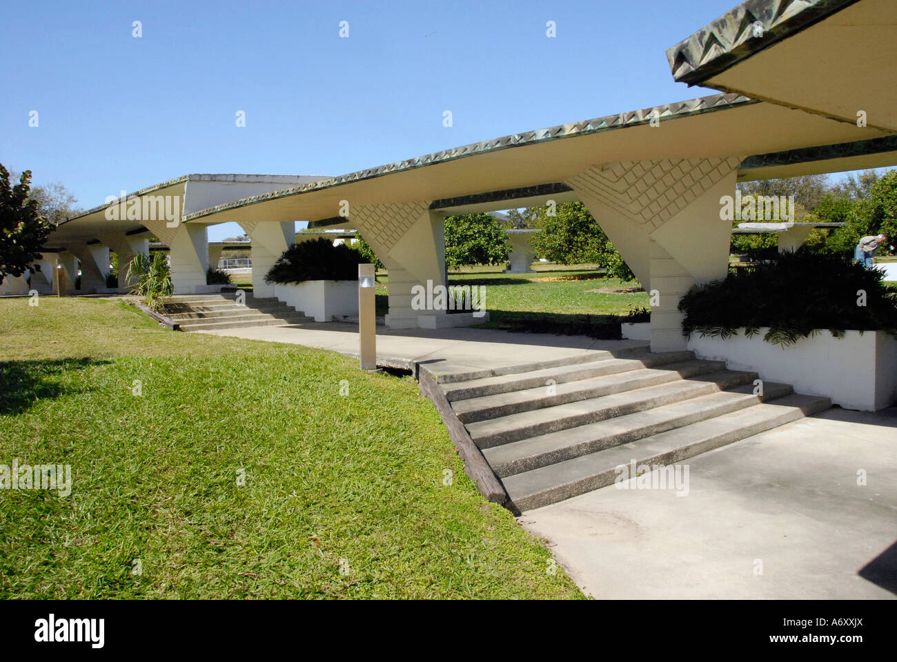 Exceptional Campus At Florida Southern College FSC Frank Lloyd Wright Architecture At  Lakeland Central Florida United States