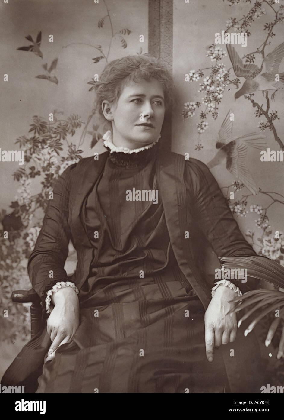 Ellen Terry. London, England, late 19th century. Stock Photo