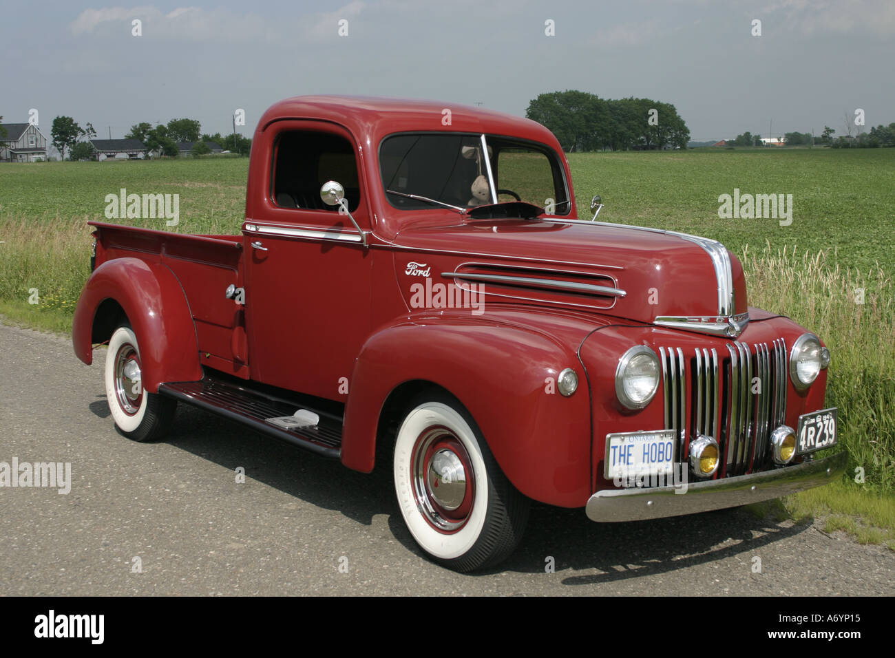 1946 ford pickup truck stock photo 3811860 alamy. Black Bedroom Furniture Sets. Home Design Ideas
