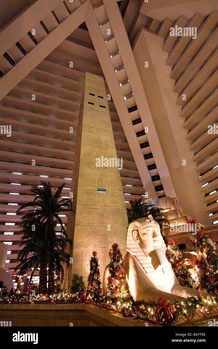 Luxor Hotel And Casino Interior Stock Photos & Luxor Hotel And Casino Interior Stock Images - Alamy