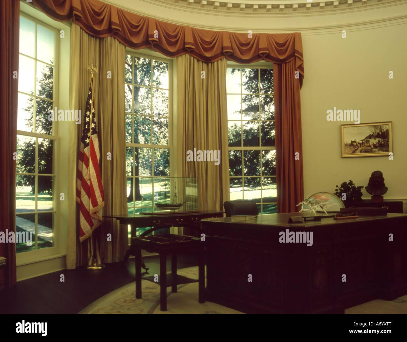 jimmy carter oval office. Oval Office Replica In Jimmy Carter Museum O