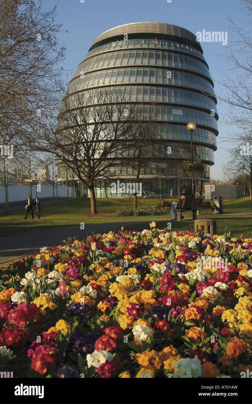 The London Assembly Building office of the Mayor of London London England United Kingdom Europe - Stock Image