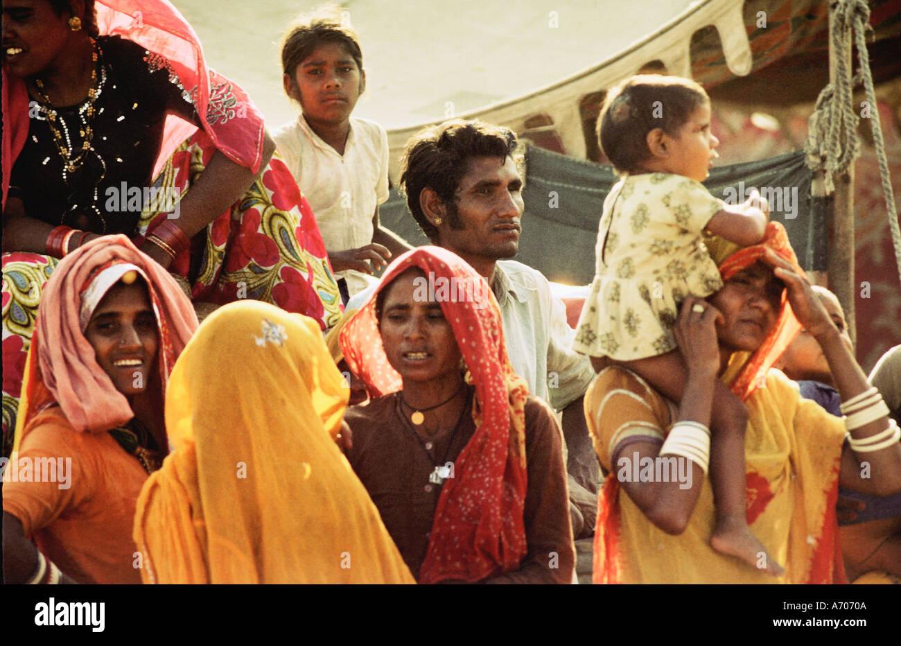 Rajasthani Women - Stock Image