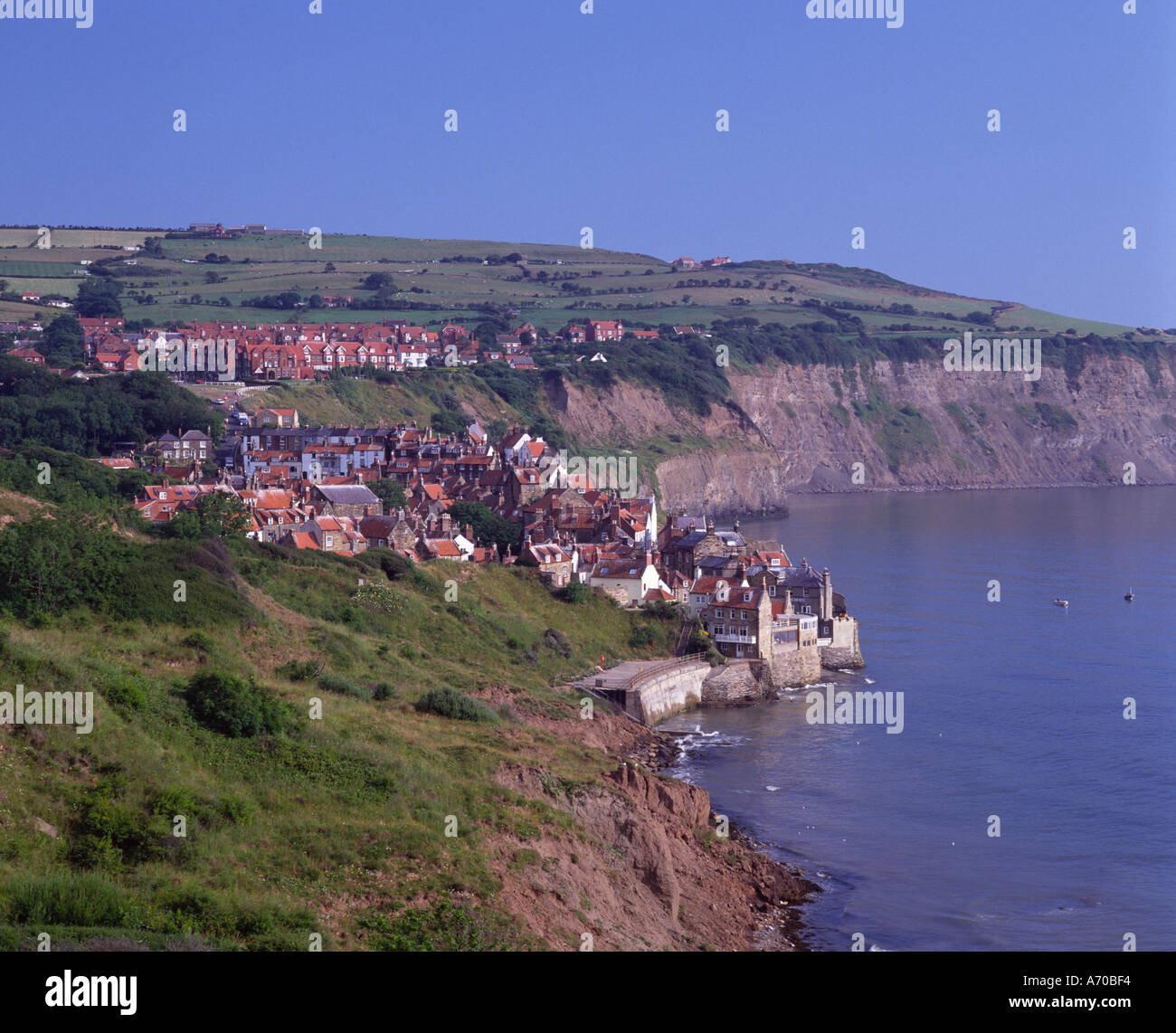 Robin Hood Bay North Yorkshire England UK Stock Photo: 461812 - Alamy
