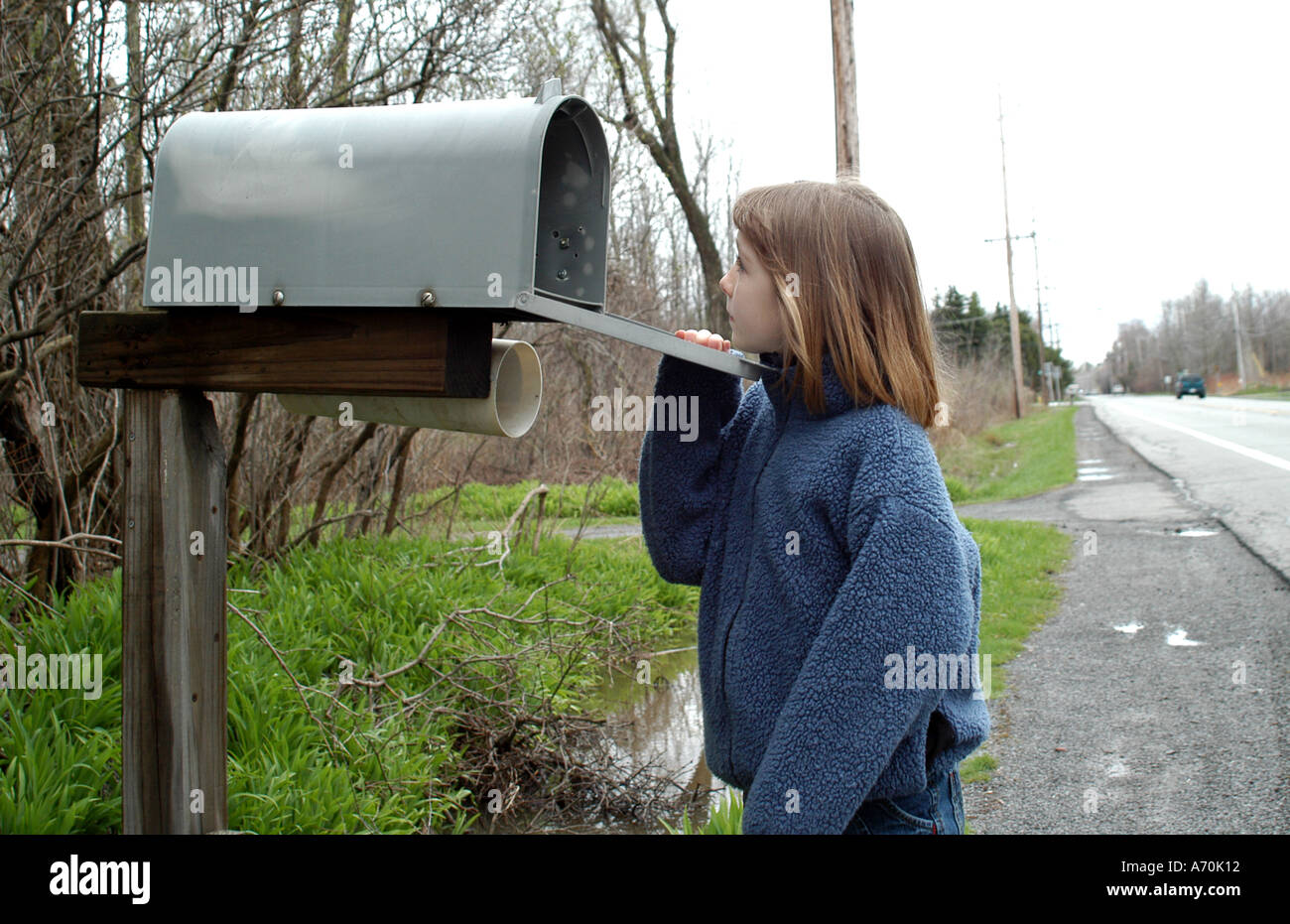 Waiting For Mail >> Child Post Waiting Mail Stock Photos Child Post Waiting Mail Stock