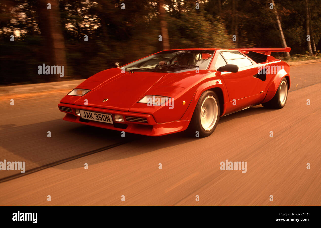 Lamborghini Countach - Stock Image