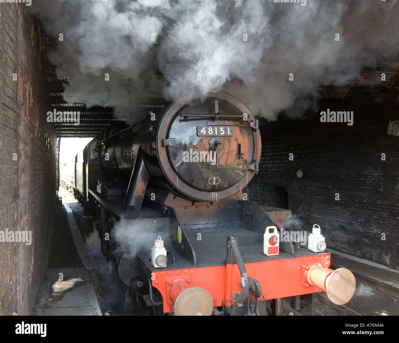 Gauge O Guild Steam Locomotive at Marylebone Station UK - 2 - Stock Image