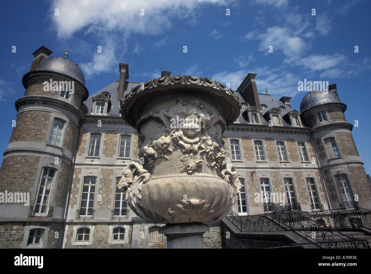 EUROPE, Belgium, Beloeil Castle - Stock Image