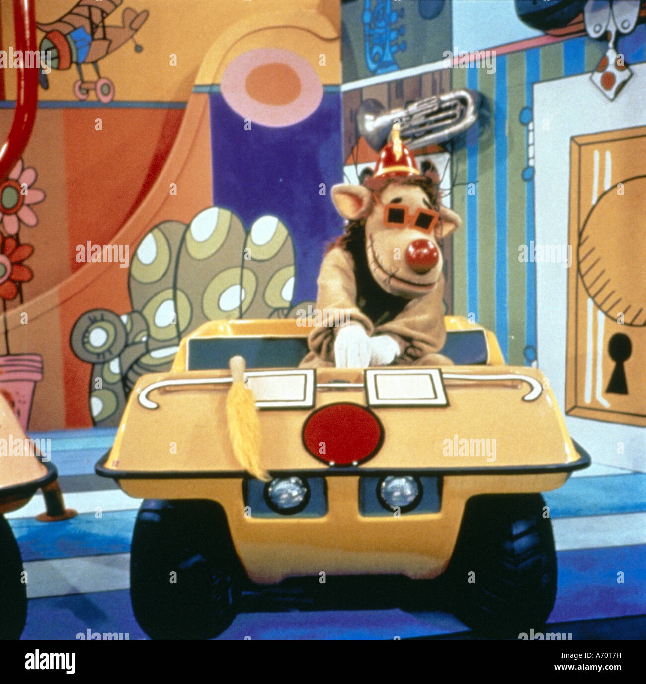 BANANA SPLITS -  US TV series 1968 to 1970 with the Drooper character - Stock Image