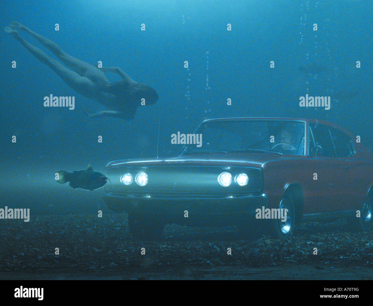 BIG FISH 2003 Columbia film with Ewan McGregor - Stock Image