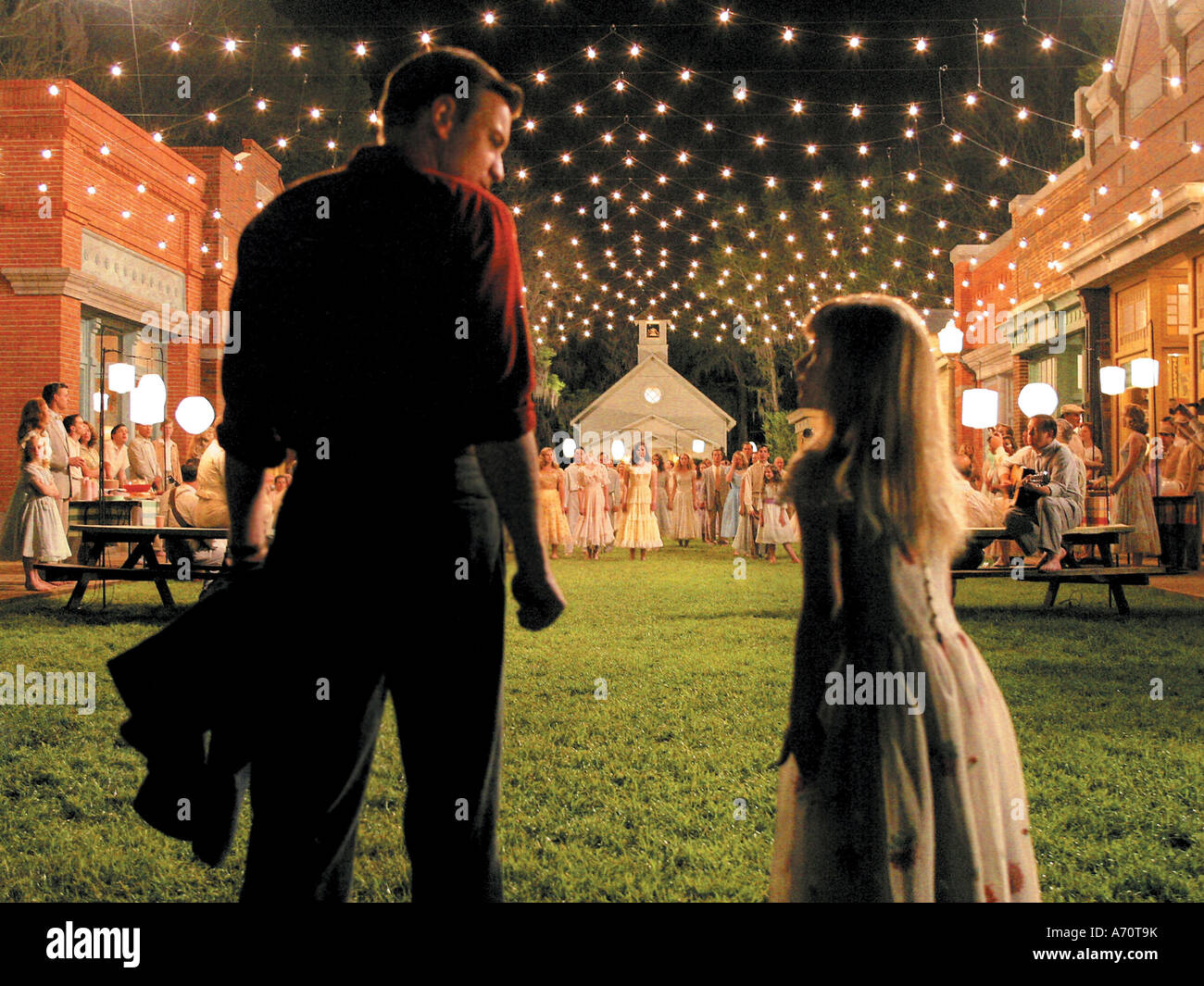 BIG FISH 2003 Columbia film with Ewan McGregor and Halley Anne Nelson - Stock Image