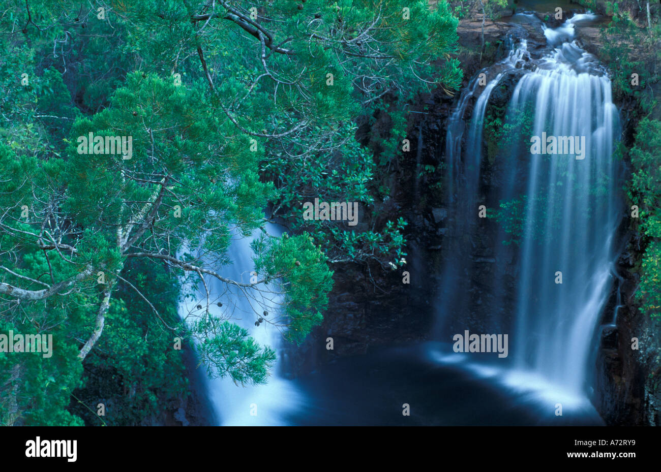Florence Falls Litchfield National Park Northern Territories Australia - Stock Image