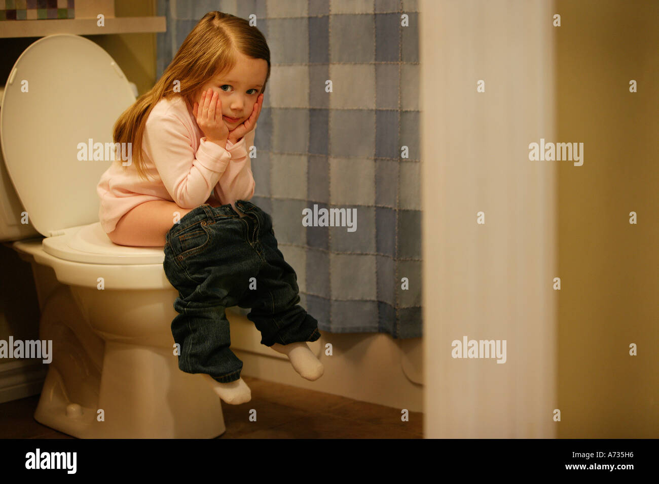 What necessary Young girl candid bathroom are