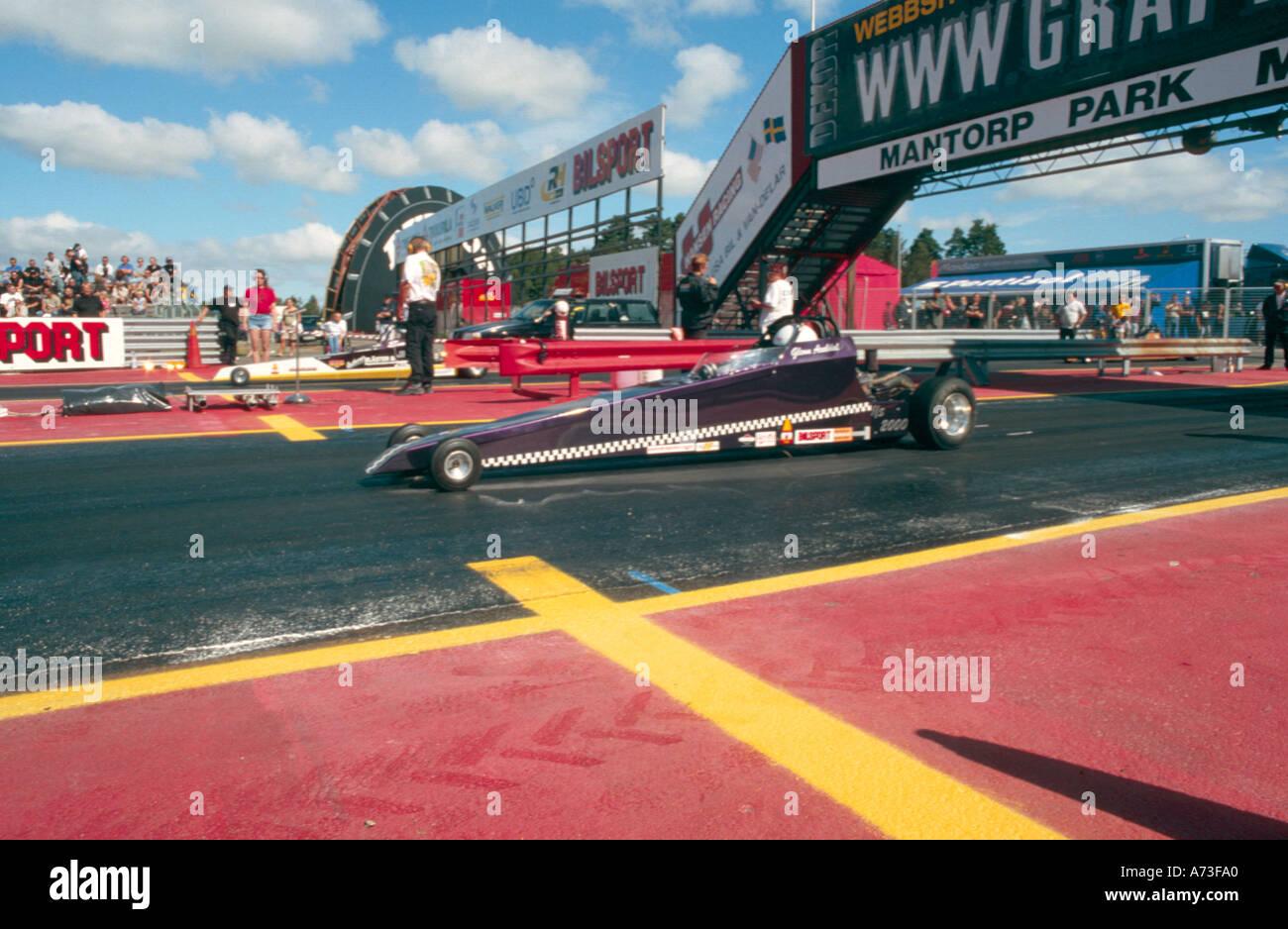 junior drag racing quartermile powered by a briggs and