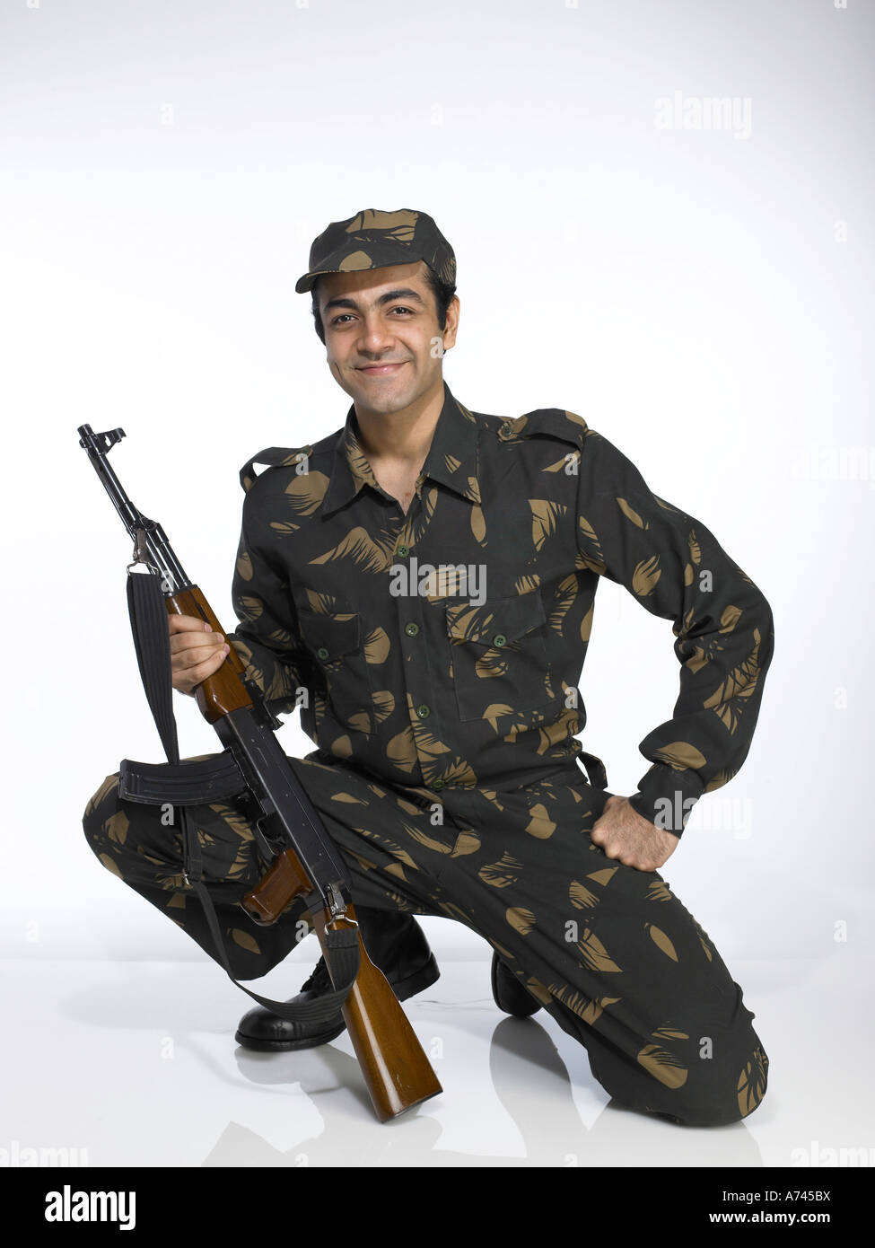 Indian army man