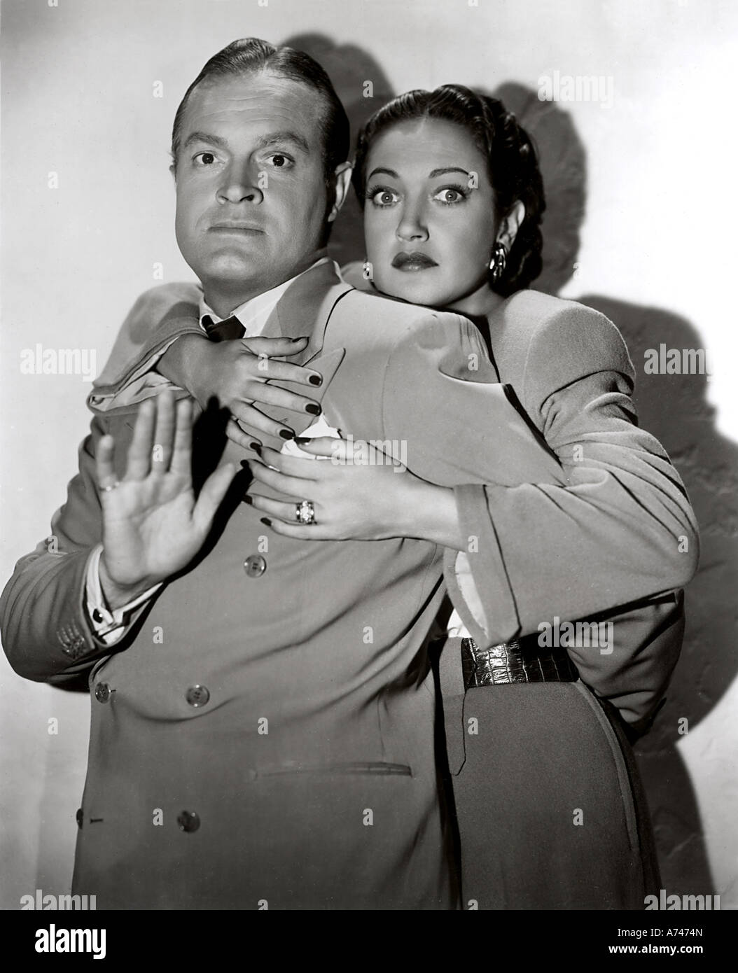 MY FAVOURITE BRUNETTE  1947 Paramount/Hope Enterprises film with Bob Hope and Dorothy Lamour - Stock Image