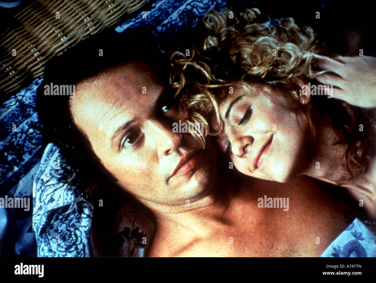 WHEN HARRY MET SALLY  1989 Palace/Castle Rock film with Meg Ryan and Billy Crystal - Stock Image