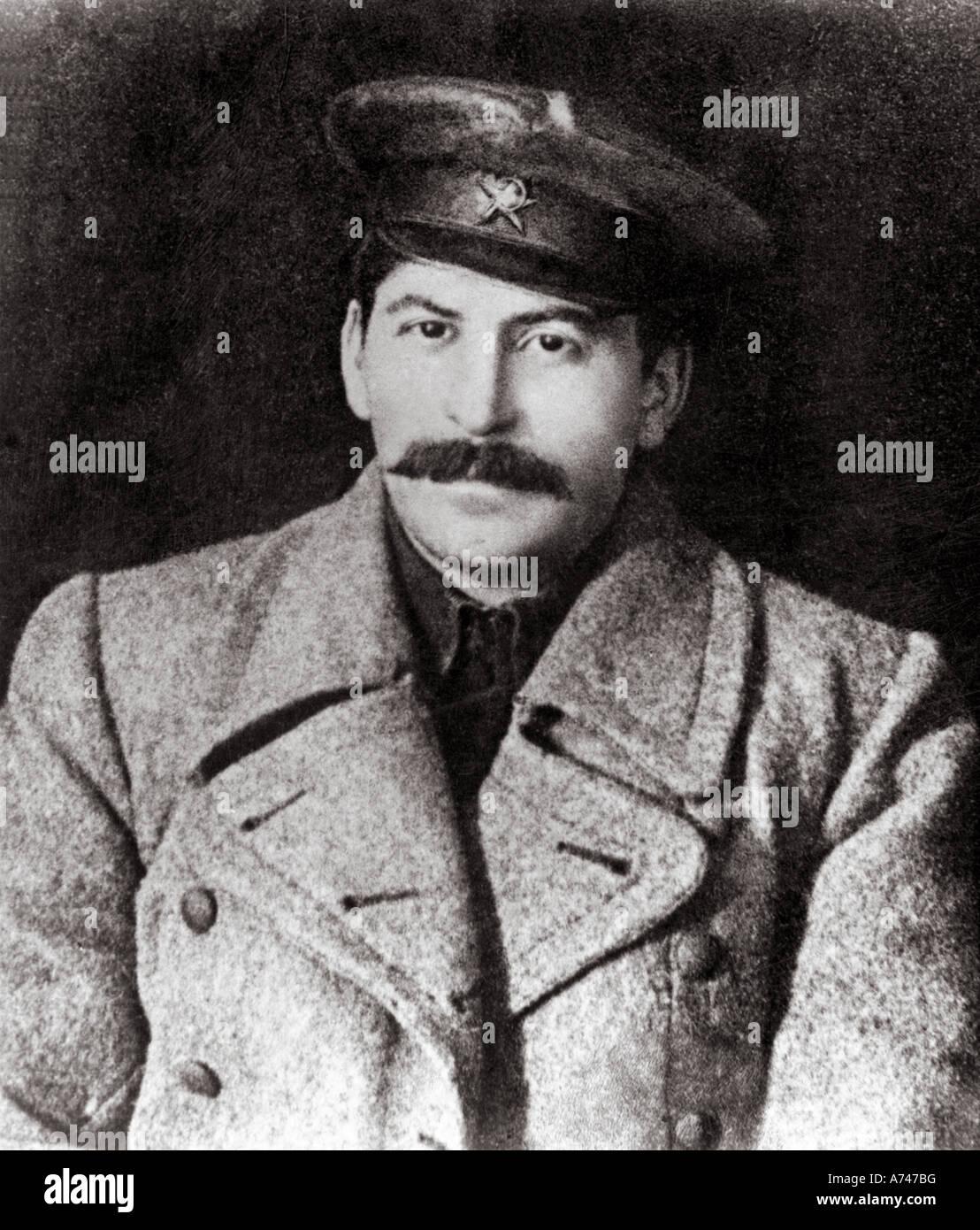 JOSEPH STALIN about 1926 - Stock Image