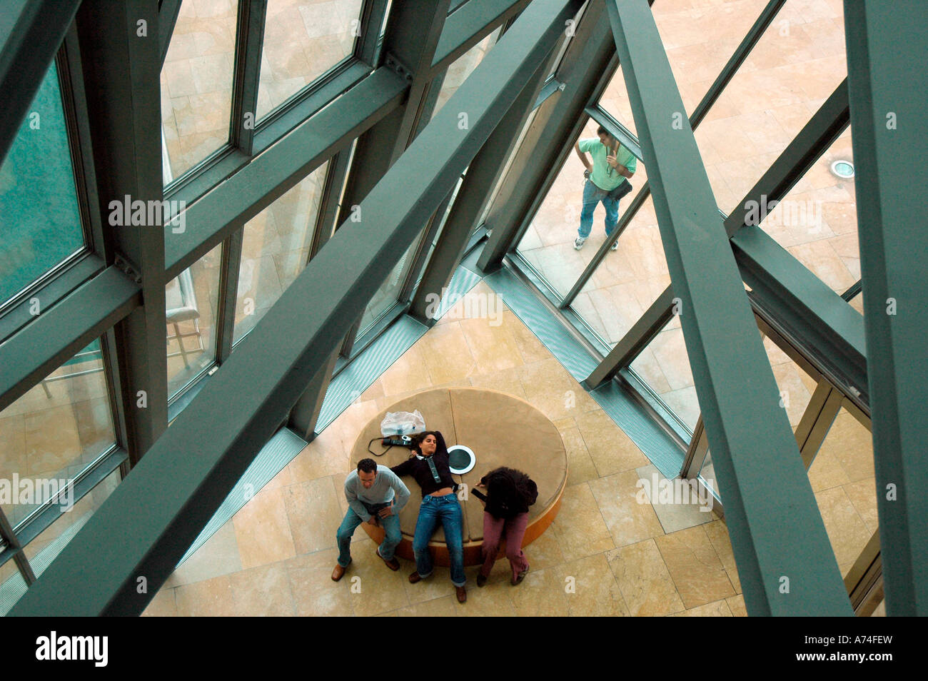 Guggenheim museum BILBAO Biscay Basque Country Spain - Stock Image