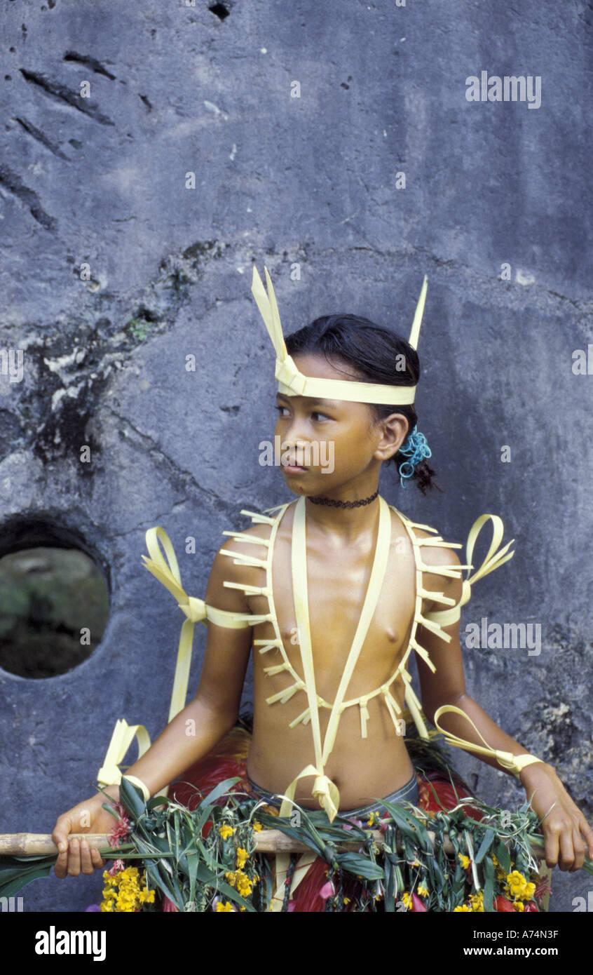 Micronesian girl