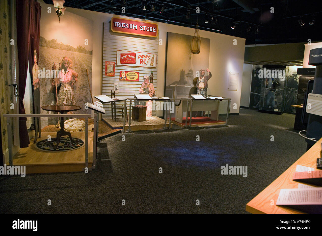 Voting Rights Trail Interpretive Center - Stock Image
