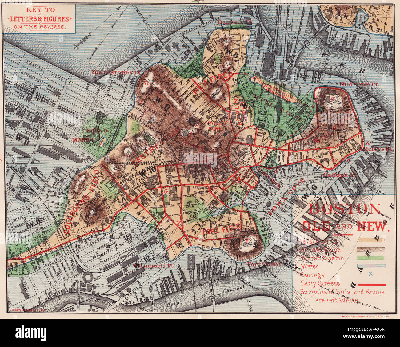 old maps of boston lincolnshire Old Map Of Boston High Resolution Stock Photography And Images Alamy old maps of boston lincolnshire