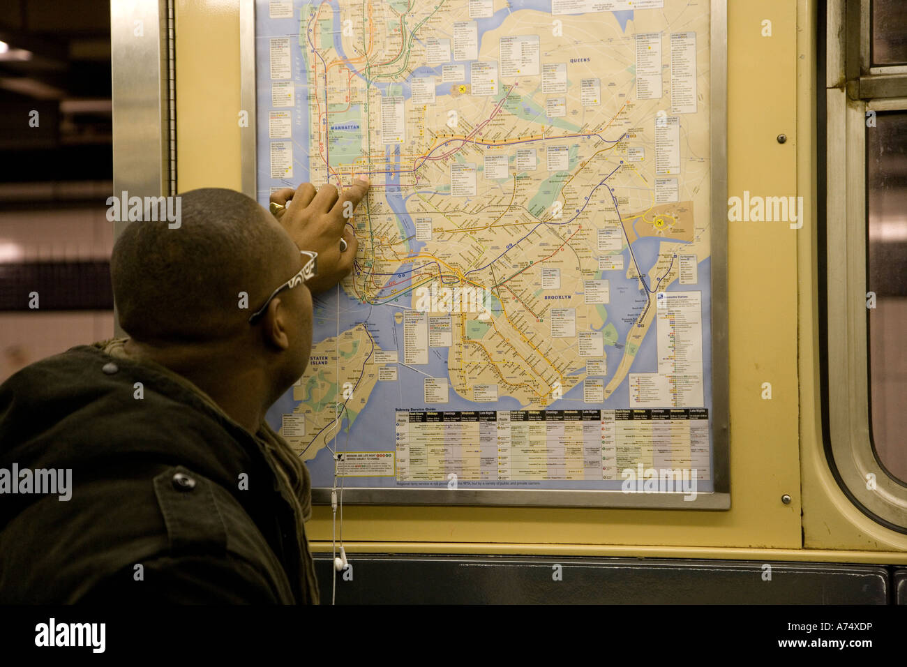 Ny Subway Map 7 Train.Nyc Subway Map Stock Photos Nyc Subway Map Stock Images Alamy