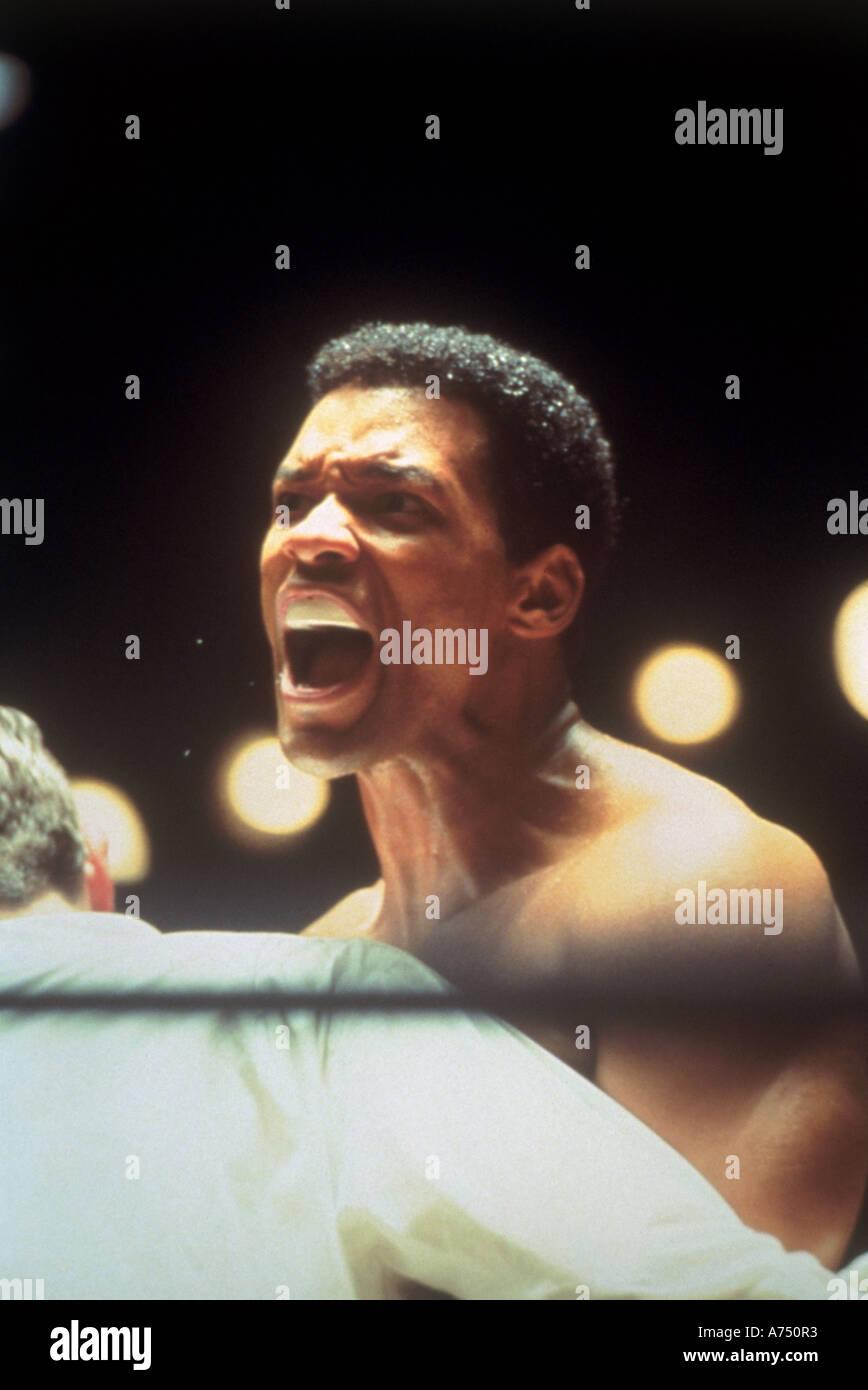 ALI 2001 Columbia film biography of Muhammad Ali - Stock Image