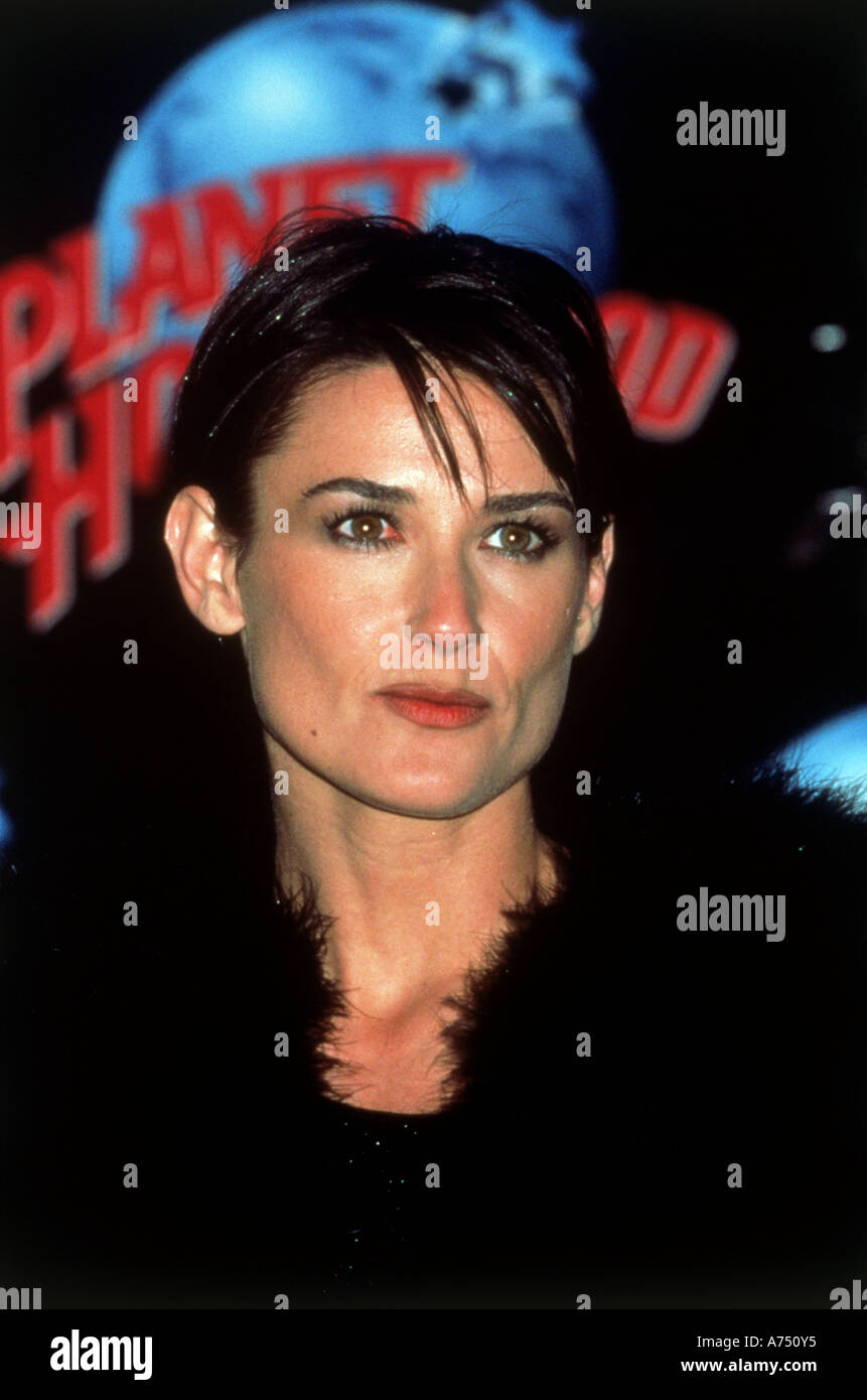 DEMI MOORE US actress - Stock Image