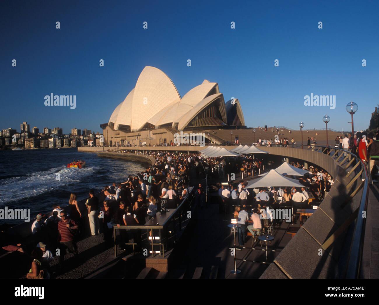 Sydney opera House , Sydney Australia , december 2005 - Stock Image