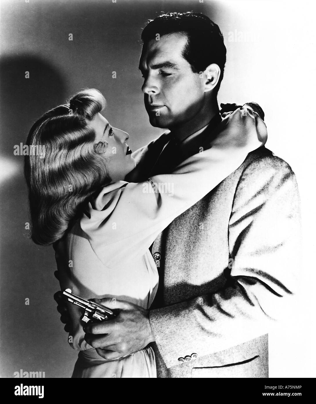 DOUBLE INDEMNITY - 1944 Paramount film with Barbara Stanwyck and Fred MacMurray - Stock Image