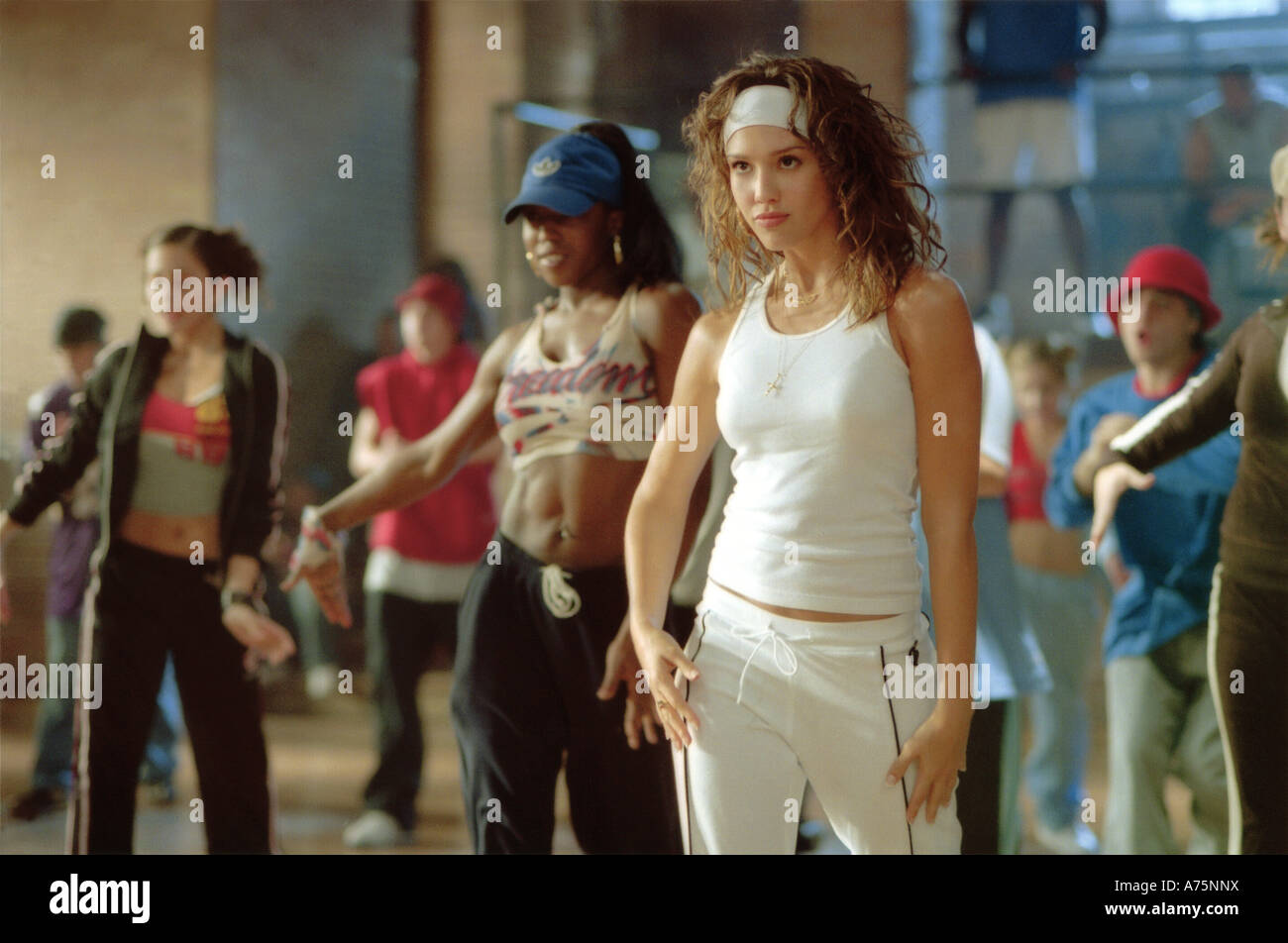 HONEY-  2003 Universal film with Jessica Alba - Stock Image