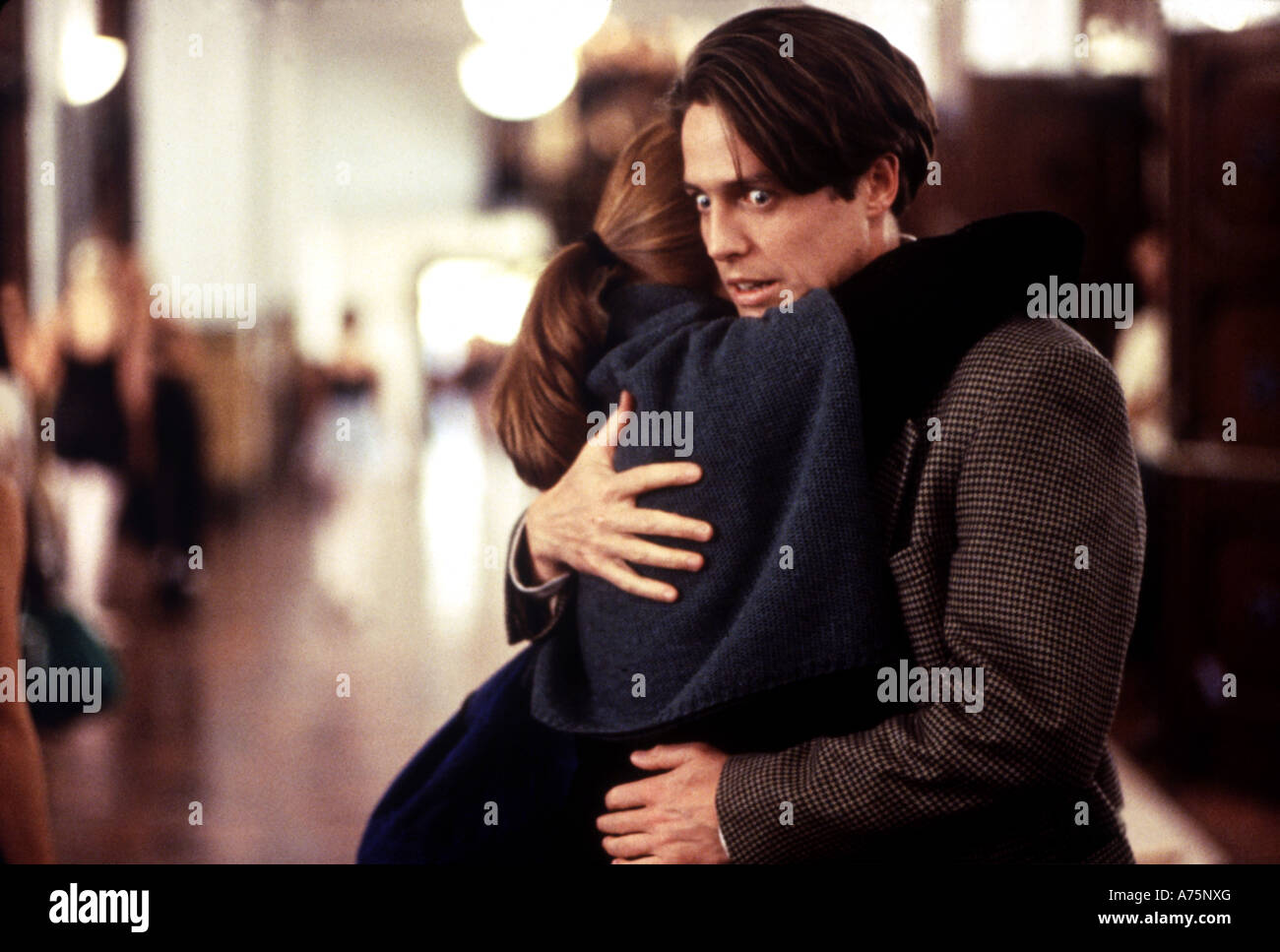 NOTTING HILL  - 1999 Polygram film with Hugh Grant and Julia Roberts - Stock Image