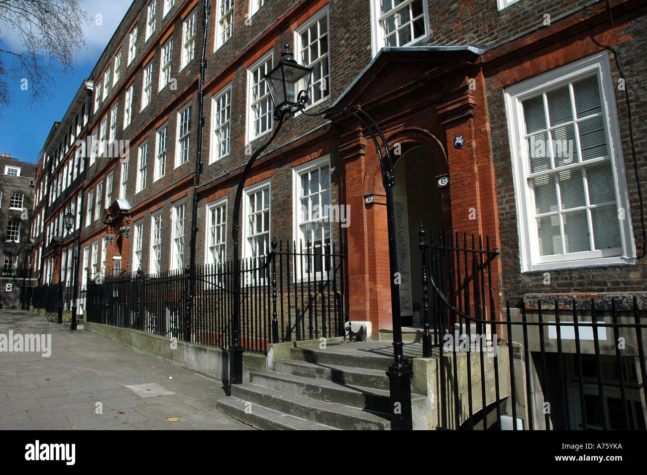 Typical Legal Office  Inns of Court  off Fleet Street London England - Stock Image