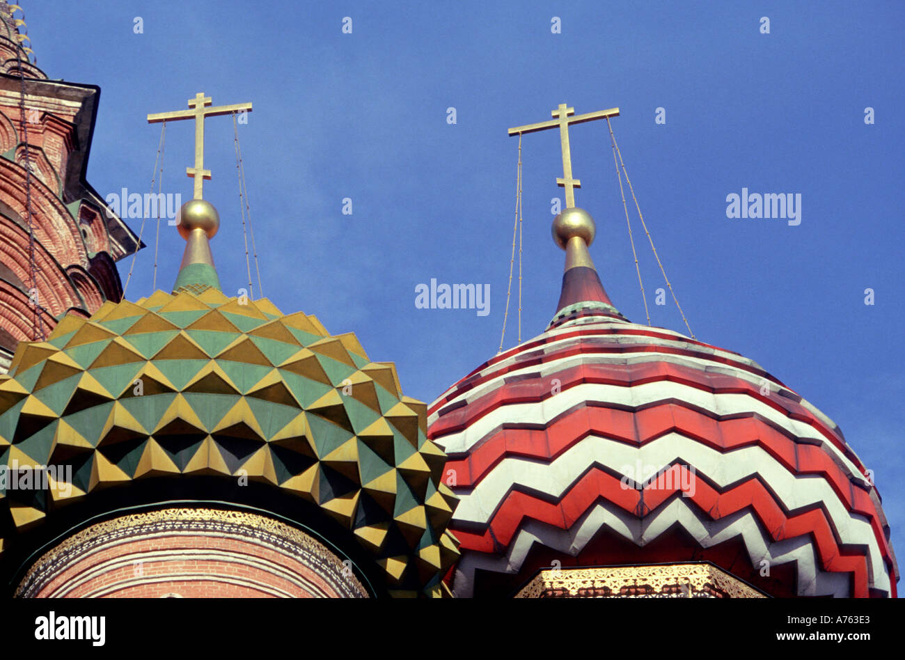 Moscow St Basil s - Stock Image