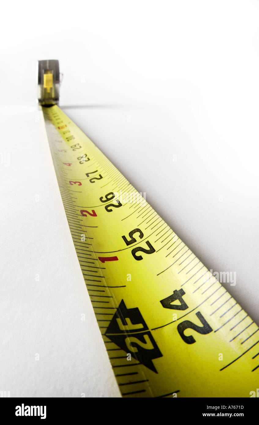 tape measure - Stock Image