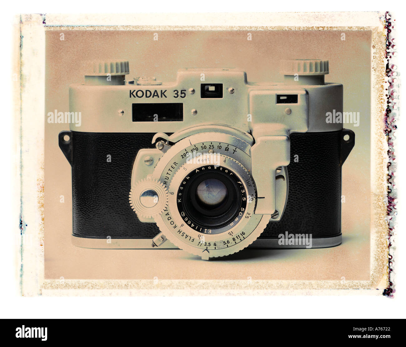 antique camera - Stock Image