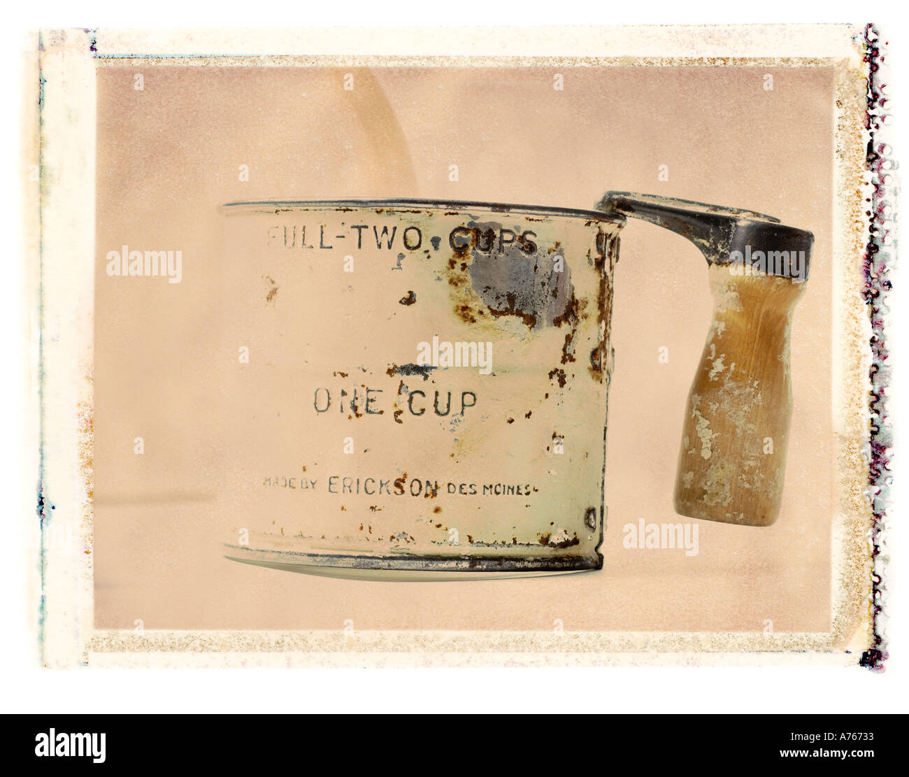 flour sifter - Stock Image