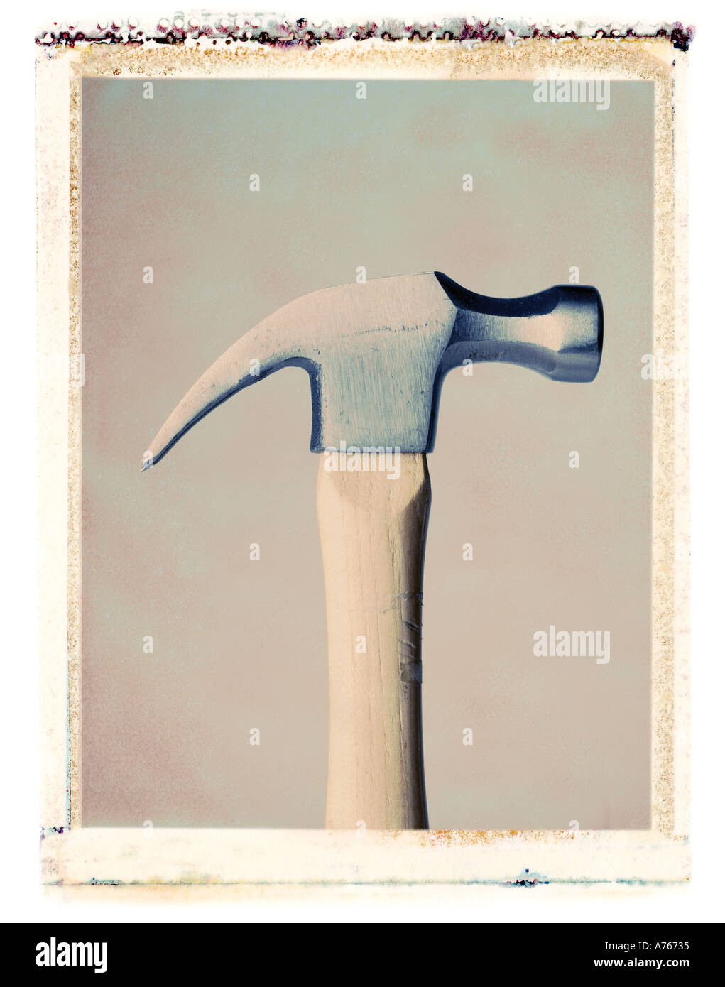 hammer profile Stock Photo