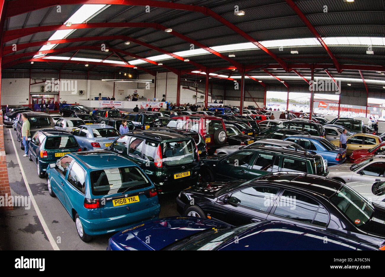 Auction Cars For Sale >> Lots Of Cars At Auction Ready For Sale Stock Photo 11739008