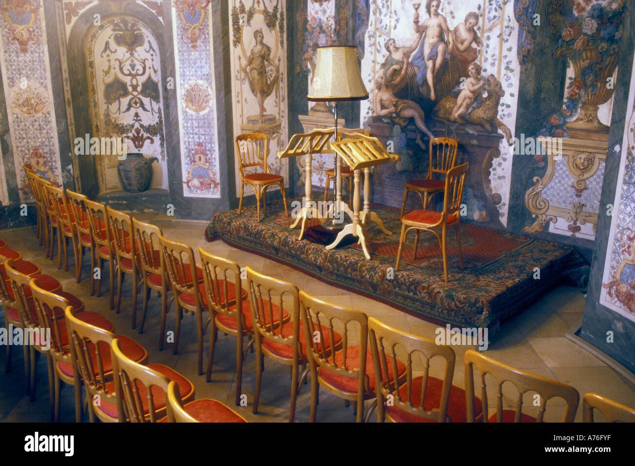 Mozarthaus Sala Terrena, Vienna Stock Photo