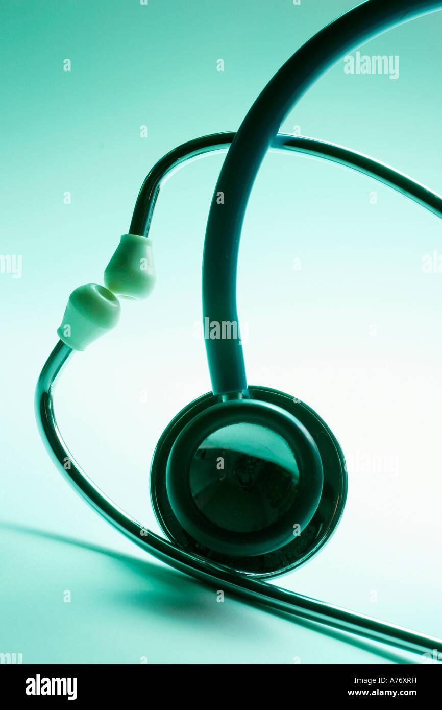 Stethoscopes Stock Photo